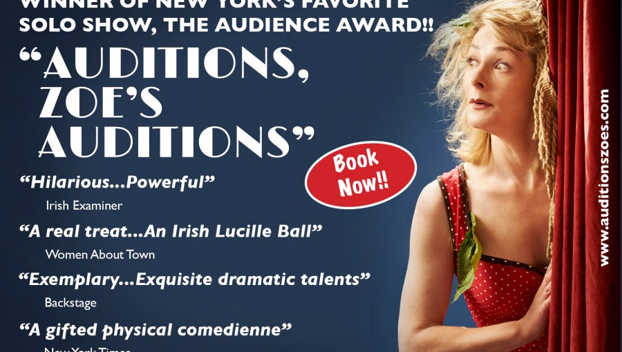 Auditions Zoe's Auditions - Book Now -
